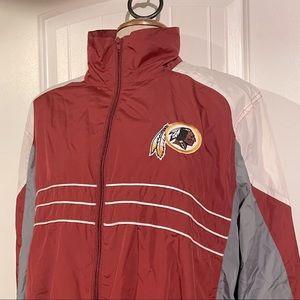 Vtg NFL Washington Redskins Windbreaker